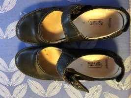 Camel Active Mary Jane Ballerinas black leather