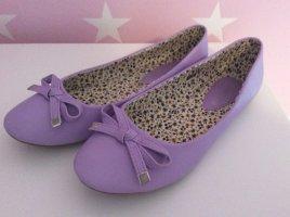 Chiara Mazzini Mary Jane ballerina's lila-paars
