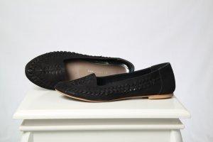 Cox Classic Ballet Flats black leather