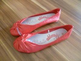 Ballerina flach Gr.38 rot von Gioseppo Leder neu