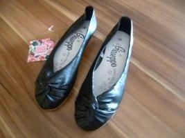 Ballerina flach Gr.38 schwarz von Gioseppo Leder neu