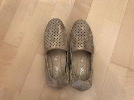 Gabor Ballerines pliables beige cuir