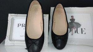 Ballerina - Leder schwarz Gr. 40