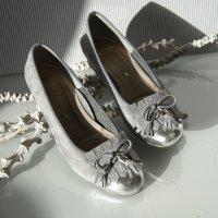 ara Buty wciągane srebrny-jasnoszary