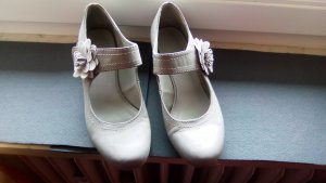 Ariane Strappy Ballerinas light grey