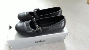 Gabor Ballerina con cinturino nero