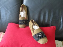 Kennel + schmenger Ballerinas with Toecap taupe-brown