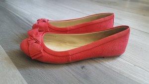Mango Mary Jane Ballerinas raspberry-red