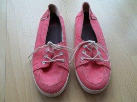 Vans Bailarinas sin talón rosa-rosa