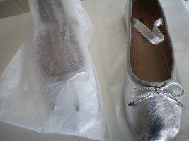 10 Days Ballerina's met bandjes zilver