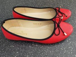Jenny Fairy Ballerines Mary Jane rouge