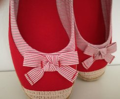 Foldable Ballet Flats red