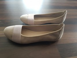 Graceland Strappy Ballerinas cream-light orange