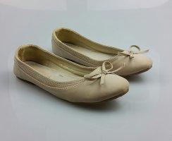 Ballerinas Beige Creme Zara