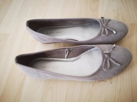 Marco Tozzi Mary Jane Ballerinas grey brown