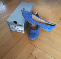 Gabor Bailarinas con tacón Mary Jane azul aciano