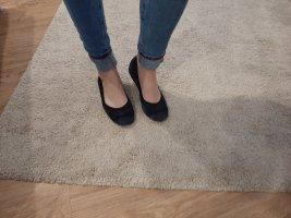 Foldable Ballet Flats blue-dark blue