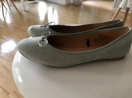 H&M Foldable Ballet Flats sage green
