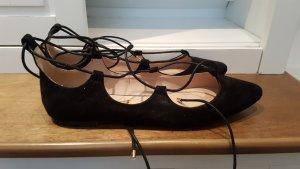 Kurt Geiger Ballerinas with Toecap black