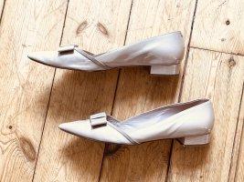 Ballerinas Lackleder beige, Gr. 44