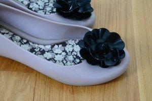 Ballerinas mit Blumenbesatz von Zaxy Gr. 37
