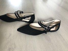 Orsay Ballerines à lacets noir