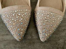 Ballerinas mit Strasssteinen