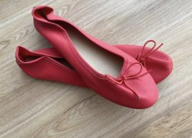 H&M Ballerina Mary Jane rosso