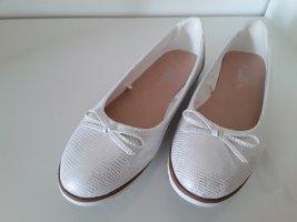 Ballerinas silber/weiß  gr. 39