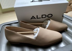 Aldo Ballerinas with Toecap beige-oatmeal