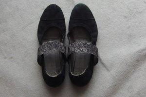 Ballerinas von Think schwarz Gr. 41