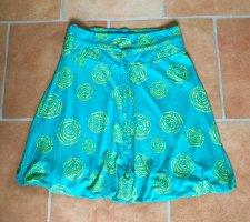 Qiero Balloon Skirt yellow-turquoise