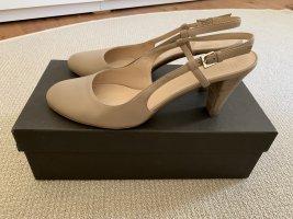 BALLY Damen Schuhe Creme Gr. 39,5 TOP !!