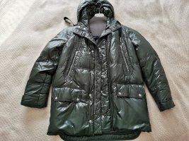 Bally Down Coat dark green