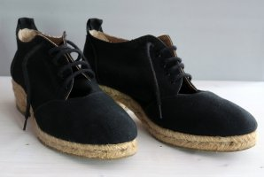Bally Lace Shoes black linen