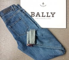 Bally High Waist Jeans blue cotton
