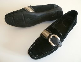 Bally Moccasins black leather