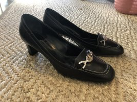 Bally Pumps Glattleder schwarz, Gr. 38