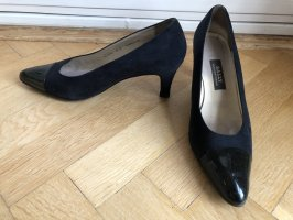 Bally High Heels dark blue