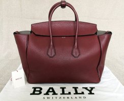 Bally Handbag bordeaux leather