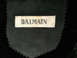 Balmain Oversized jas zwart Polyester