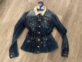 Balmain Veste en jean bleu