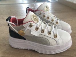 Balmain Sneaker stringata multicolore Pelle