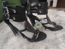 Balmain Hoge hakken sandalen zwart