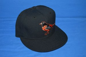 New Era Baseball Cap black-orange