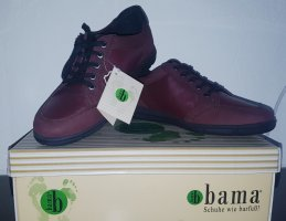 Bama Lace-Up Sneaker bordeaux
