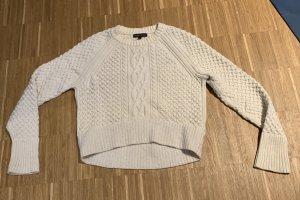 Banana Republic Pull tricoté blanc