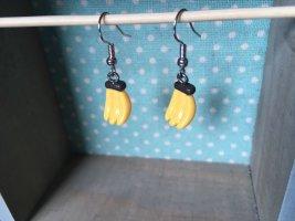 Bananen Ohrringe