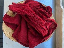 Ohne Neckerchief carmine cotton