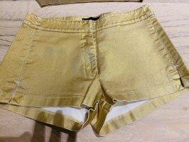 BANDANAS Hot Pants gold-colored